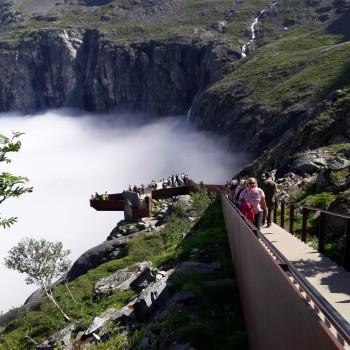 Aussichtsplattform über den Trollstigen