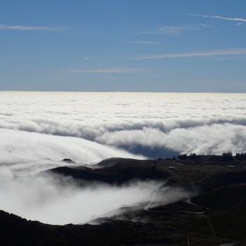 Über den Wolken schweben - Blick vom Pico Ruivo
