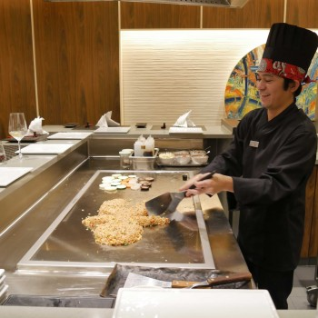Showcooking im Teppanyaki Asia Grill