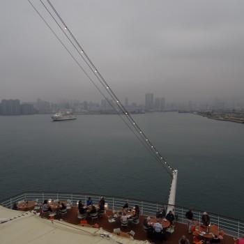Andocken in Hongkong