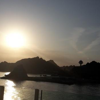 Sonnenaufgang in Muscat