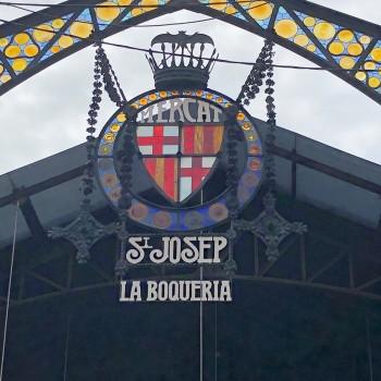 Markthalle von Barcelona