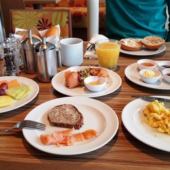 Frühstück im Weite Welte