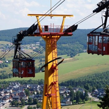 Oberwiesenthal und Fichtelberg