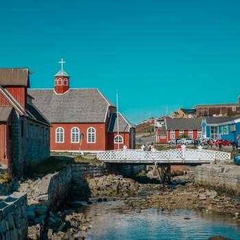 Zentrum von Qaqortoq