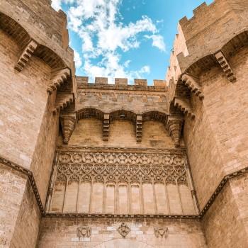 Eingangstor zur Altstadt von Valencia