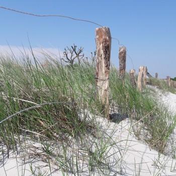 Sand-Strandkörbe-Meer