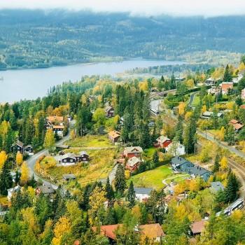 Oslo und der Ausblick vom Holmenkollen