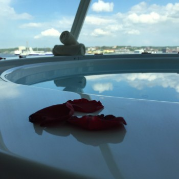 Im Whirlpool entspannen