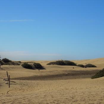 Dünen und Strand auf Gran Canaria