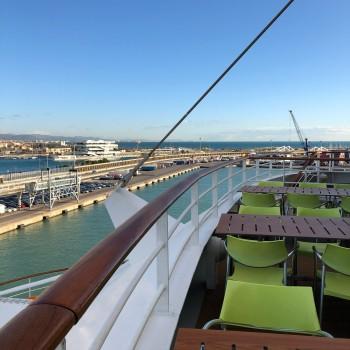 Im Hafen von Valencia
