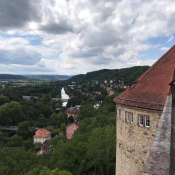 Tübingen, warum bist du so hügelige?