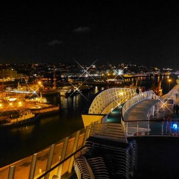 Overnight im Hafen einer tollen Stadt ist einfach Klasse