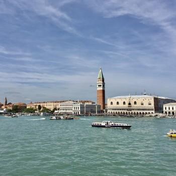 Blick auf Venedig bei Tag