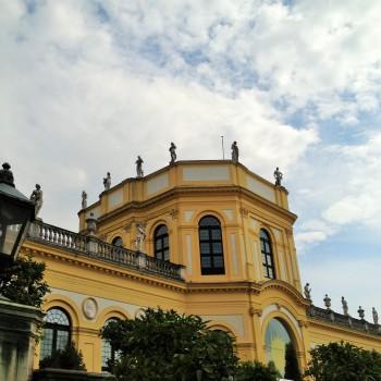 Die Orangerie in der Karlsaue