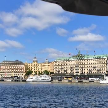 Stockholm vom Wasser aus