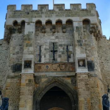 """Das mittelalterliche Stadttor """"Bargate"""""""