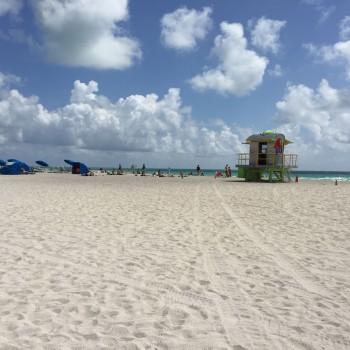 weite Sandstrände in Miami