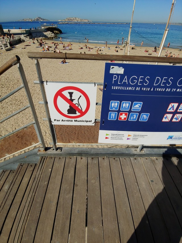 Stadtstrand Marseille