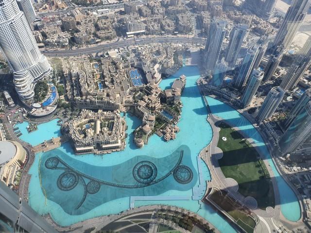Fontänenbecken Dubai Mall