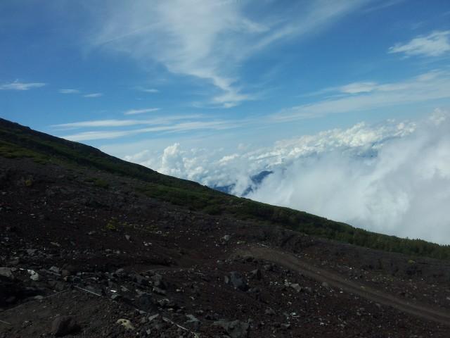 Aussicht vom Fuji-san