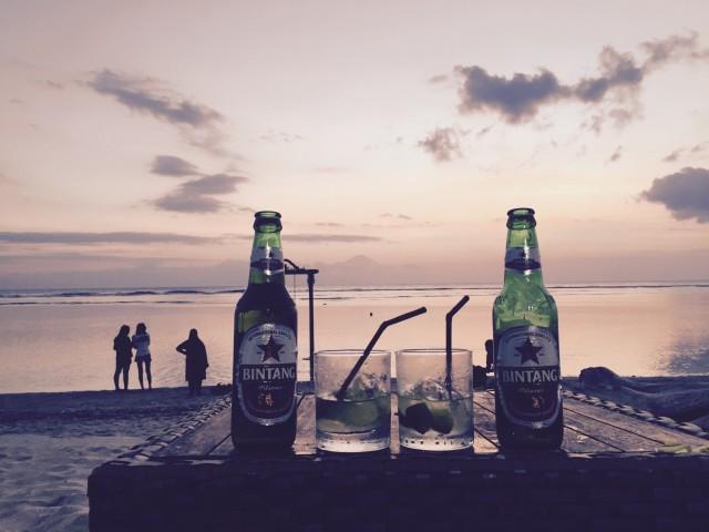 Abendstimmung auf Lombok