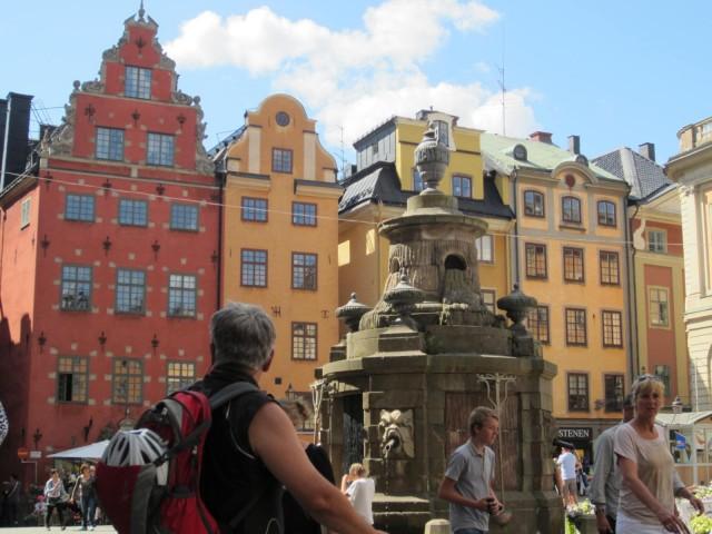Marktplatz in Stockholm