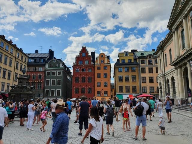 Besuch in Gamla Stan - Stockholms Altstadt