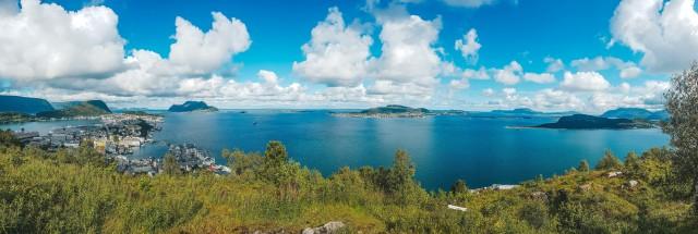 Panoramablick Alesund