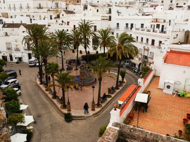 ~ Plaza del España in Vejer de la Frontera~