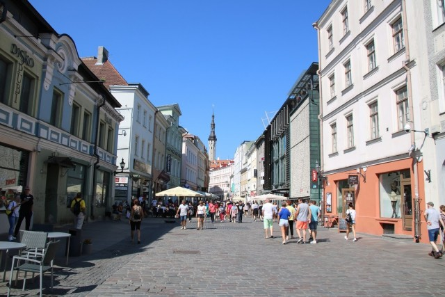 Durch die Gassen von Tallinn