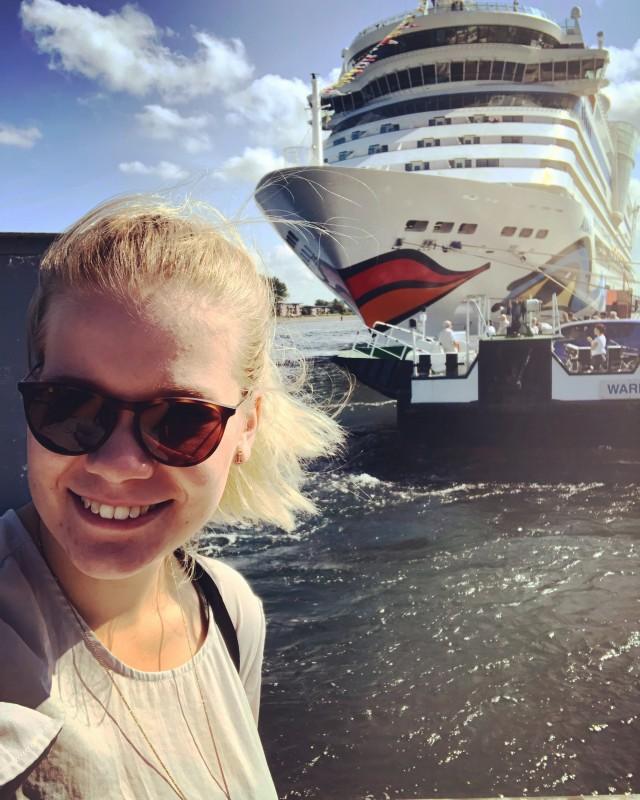 Schiffsbesuche auf AIDAdiva