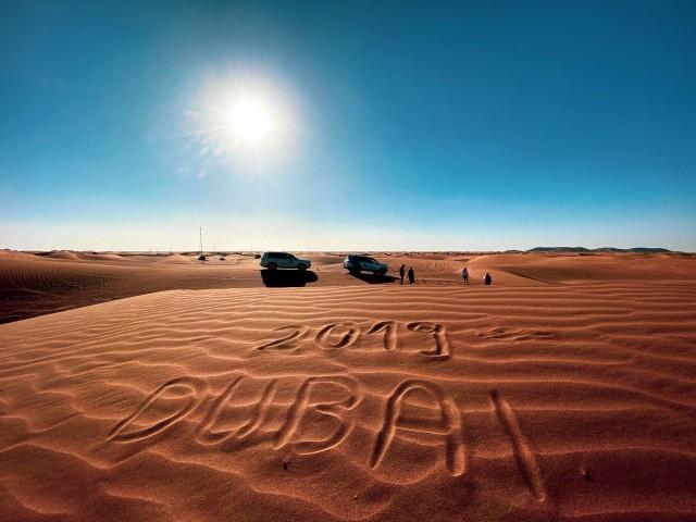 Die Wüste rund um Dubai