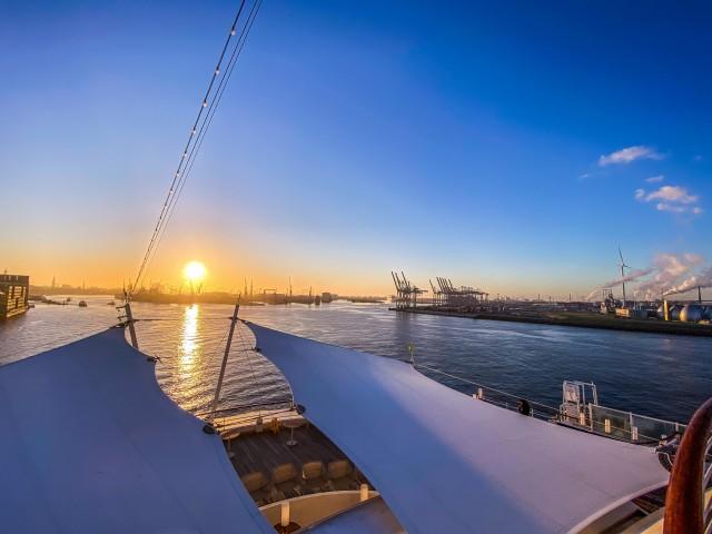 Goldener Hafen Hamburg