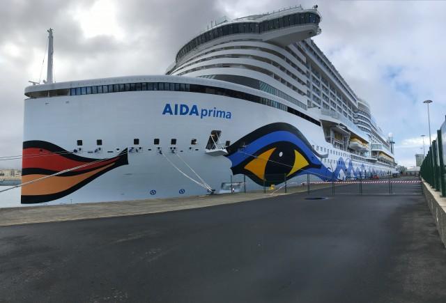 Im Hafen von Gran Canaria