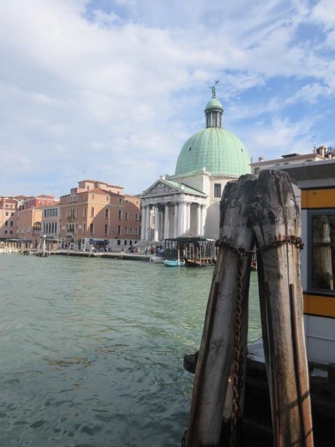 Erste Stippvisite in Venedig