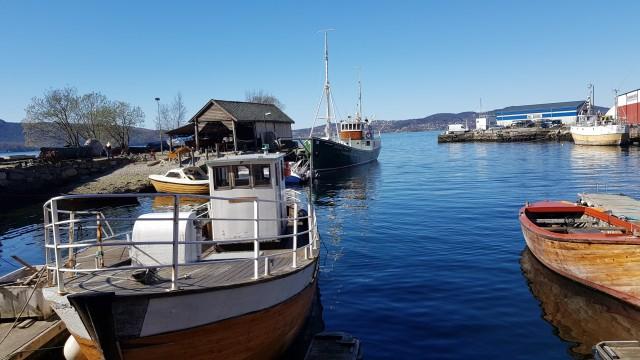 Blick vom Bod 24 Sandviken in Bergen