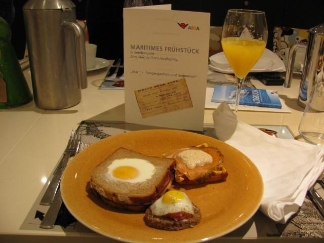 Maritimes Frühstück auf AIDAprima