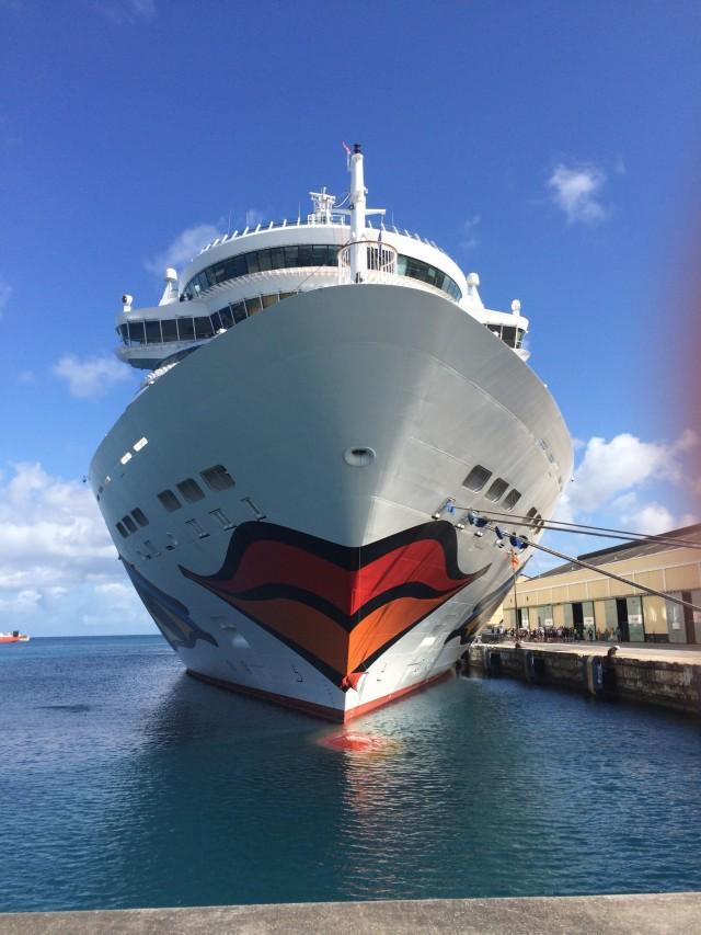 Im Hafen von Barbados