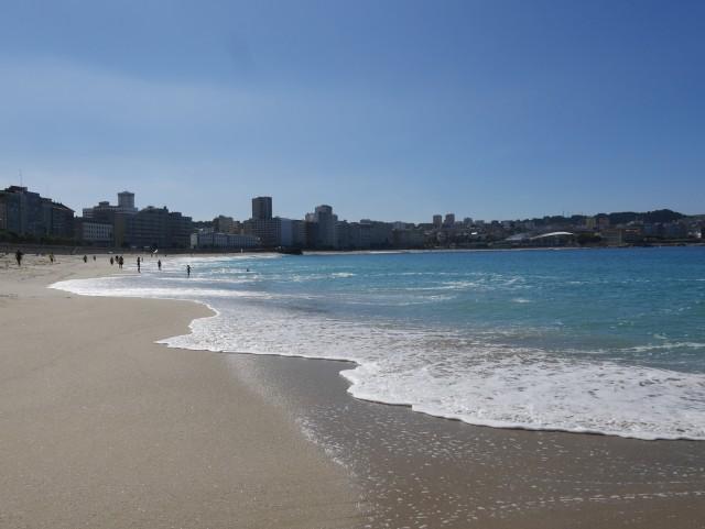 Strand von La Coruna