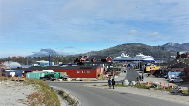 Mit dem öffentlichen Bus in Nuuk unterwegs