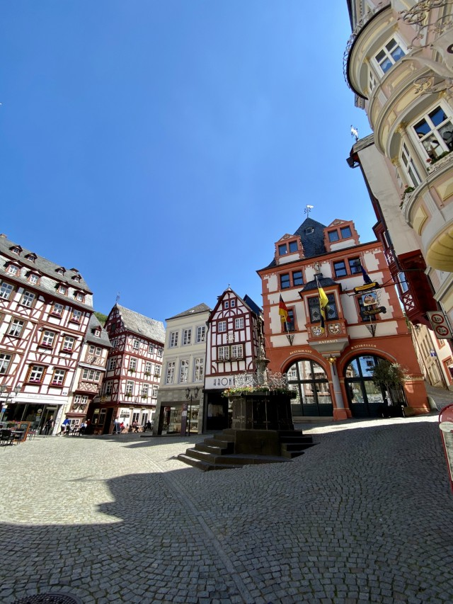 Mittelalterlicher Marktplatz
