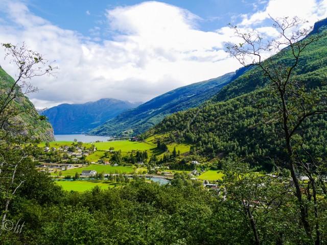 Flåm ~ am Ende des Aurlandsfjords