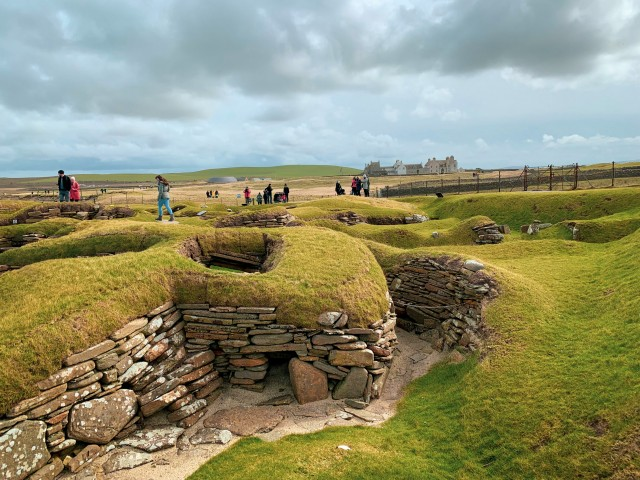 Das neolithic village von Skara Brae