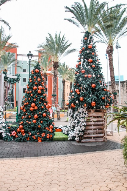 Weihnachtlich geschmücktes Curacao