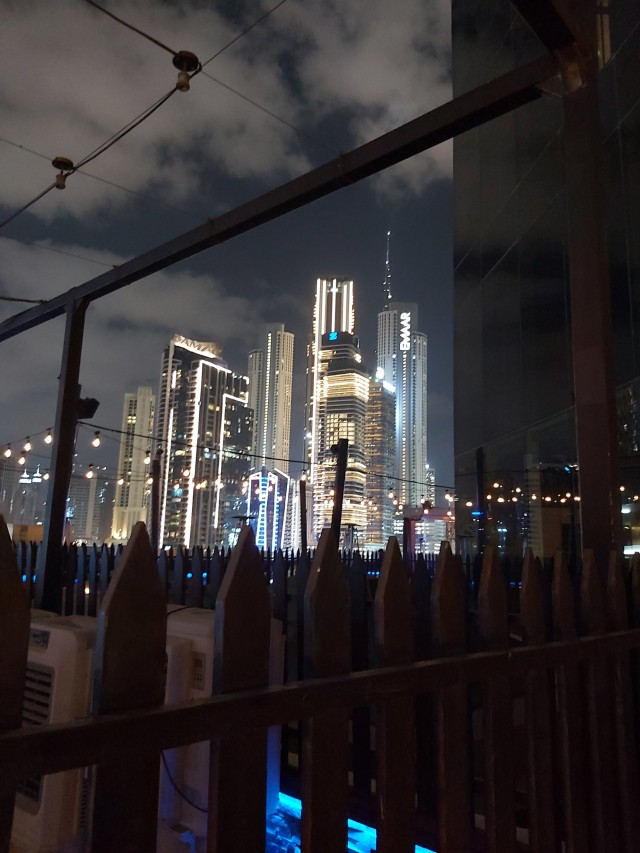 Dubai: Aussicht bei Nacht