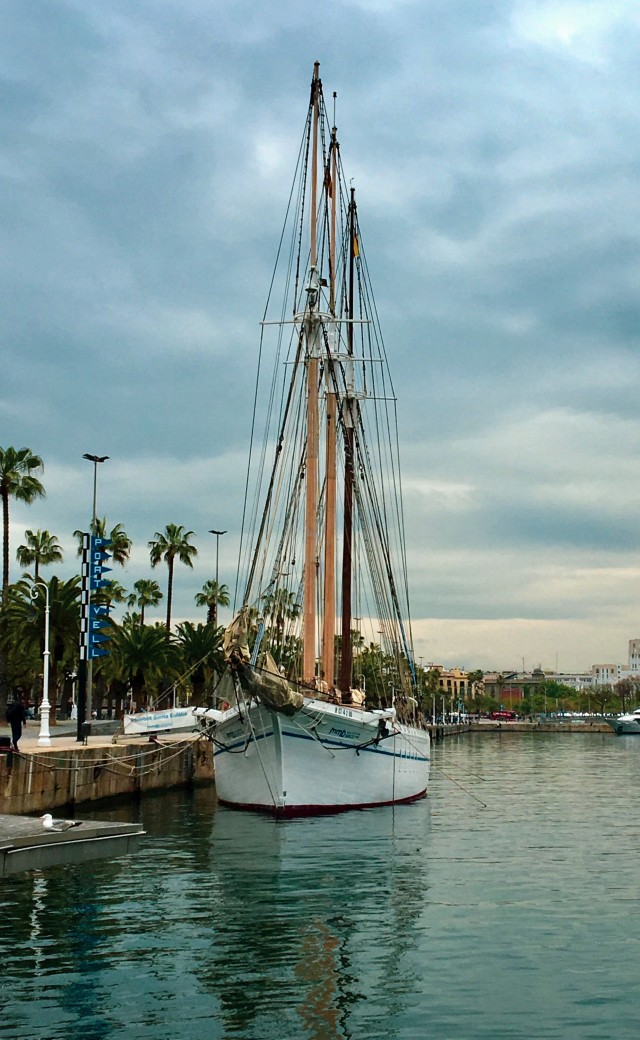 Yachthafen von Barcelona