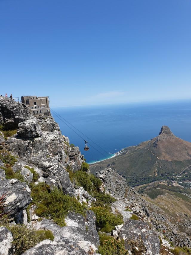 Ganz oben auf dem Tafelberg