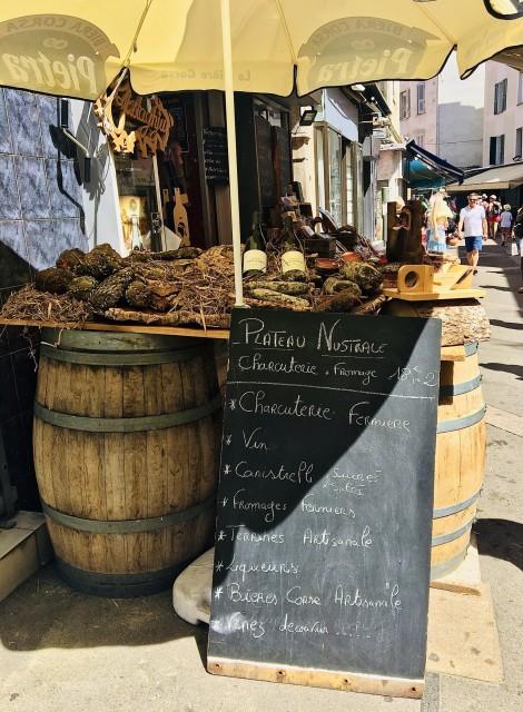 Korsische Delikatessen