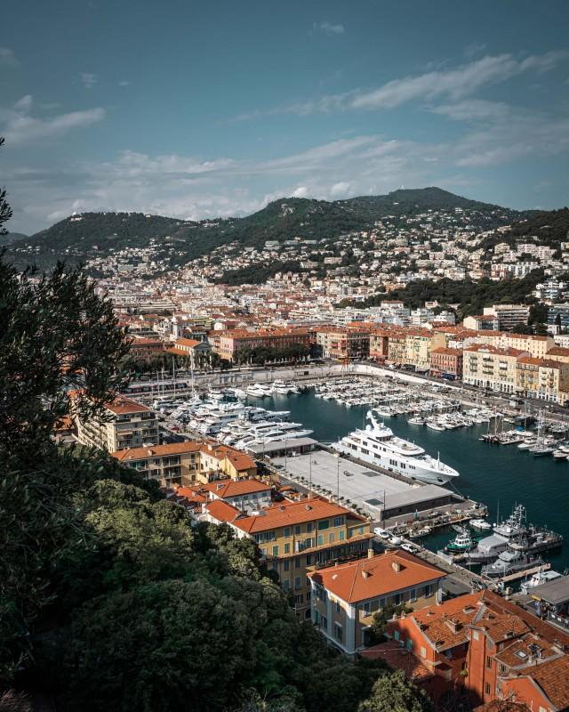Hafenbecken von Nizza